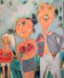 Sommerglæde (80 x 100) Solgt