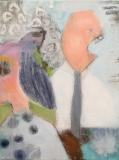 Scener fra første ægteskab (30 x 40) 800 kr