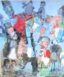 Livets cirkus (100 x 120) Privat eje